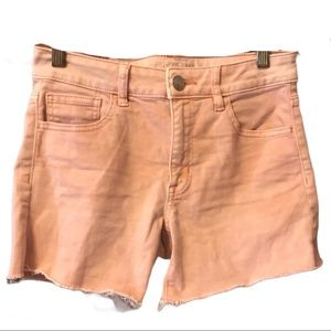 American Eagle Hi-Rise Shortie With Frayed Hem 2
